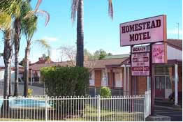 The Homestead Motor Inn - Accommodation 4U
