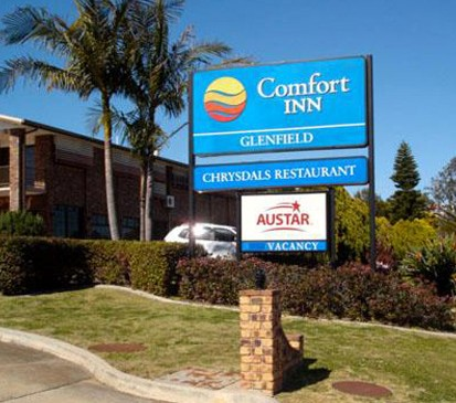Comfort Inn Glenfield - Accommodation 4U