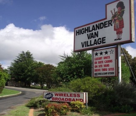 Highlander Van Village - Accommodation 4U