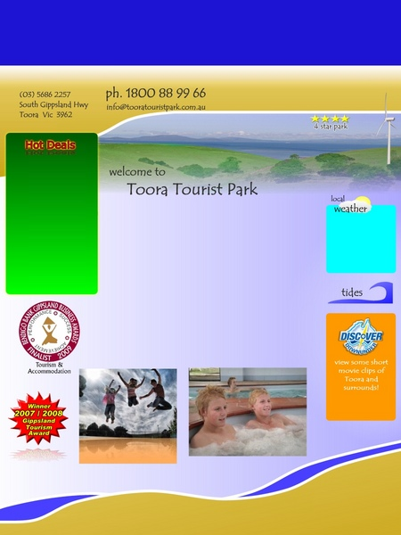 Toora Tourist Park - Accommodation 4U
